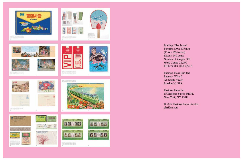 북한 그래픽디자인 책~Made in North Korea~(北朝鮮グラフィックデザインブック)08