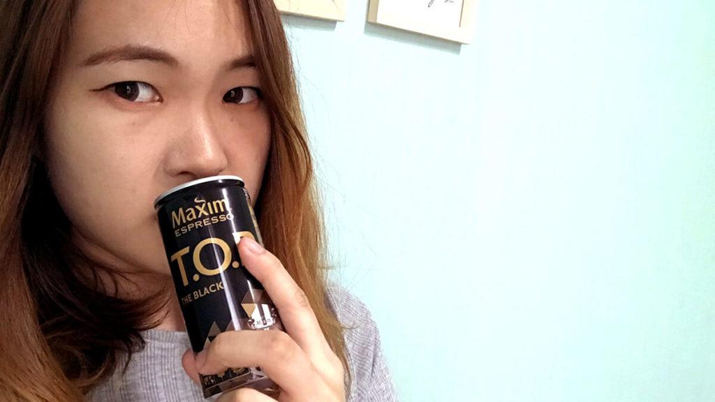 韓国缶コーヒー飲んでみる