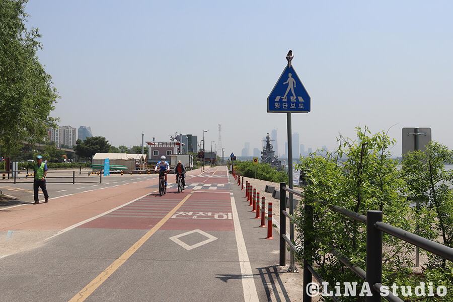 望遠漢江公園_サイクリング