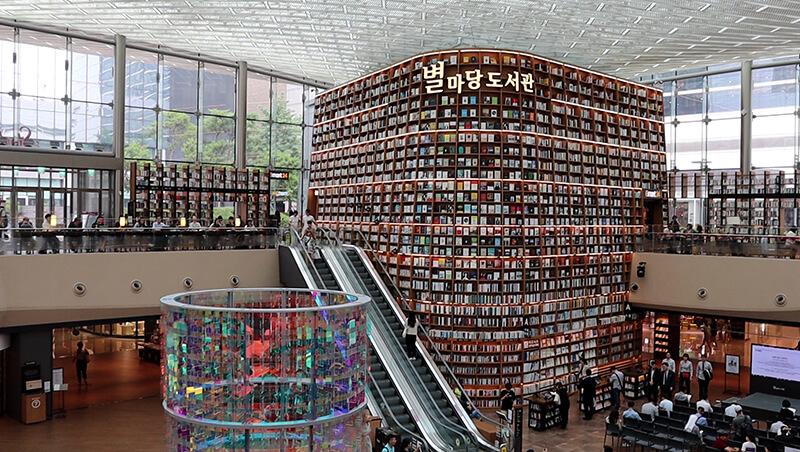 韓国ピョルマダン図書館 _内観