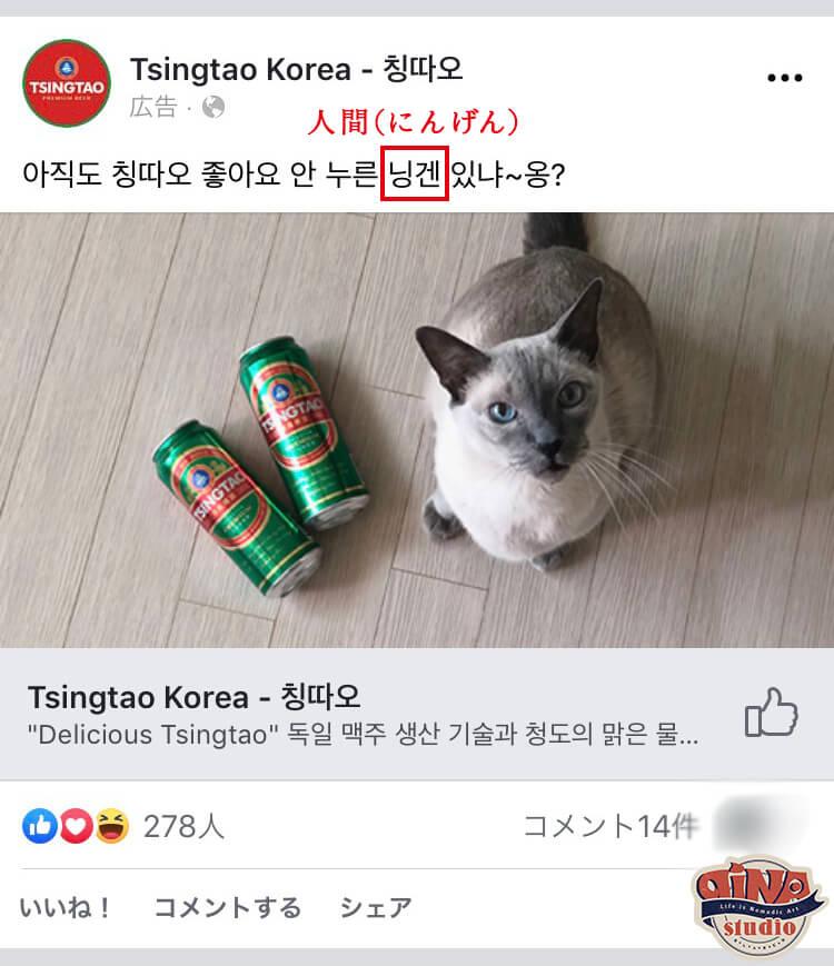 韓国広告事例_ページいいね!広告