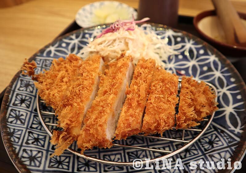 韓国_激安350円とんかつ定食_04