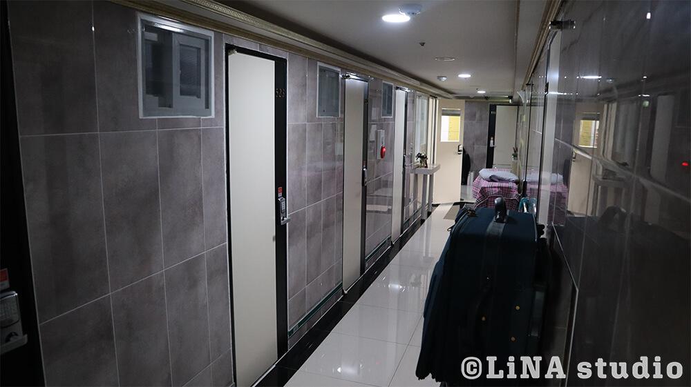 韓国コシテル_廊下