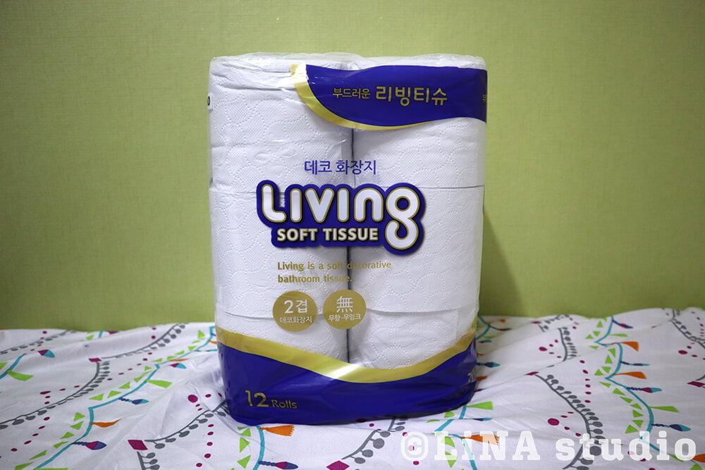 韓国トイレットペーパー
