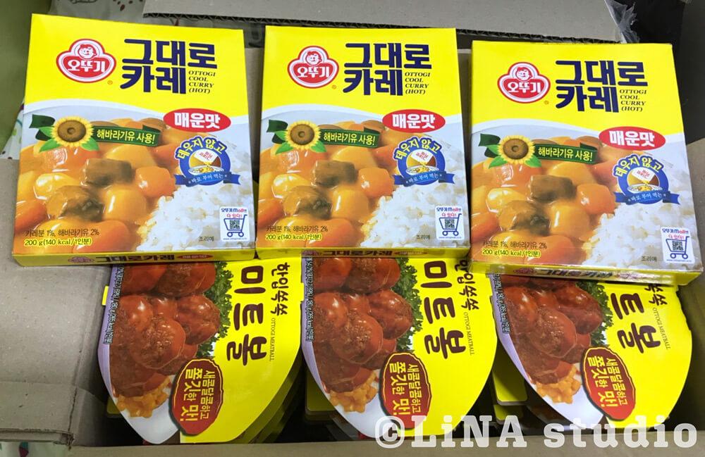 韓国加工食品まとめ買い