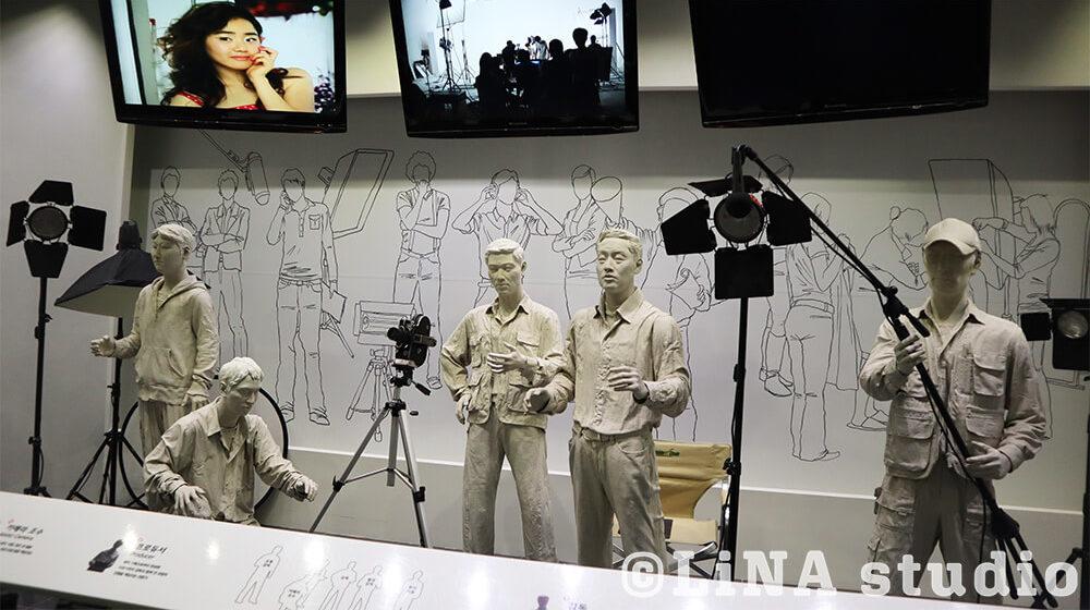 韓国広告博物館_マネキン