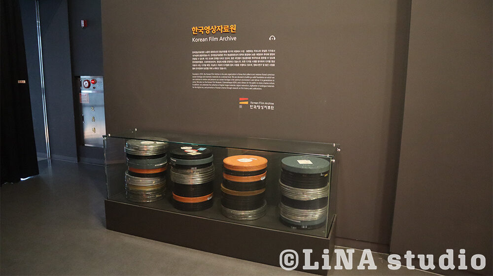 韓国映画博物館_フィルムロール