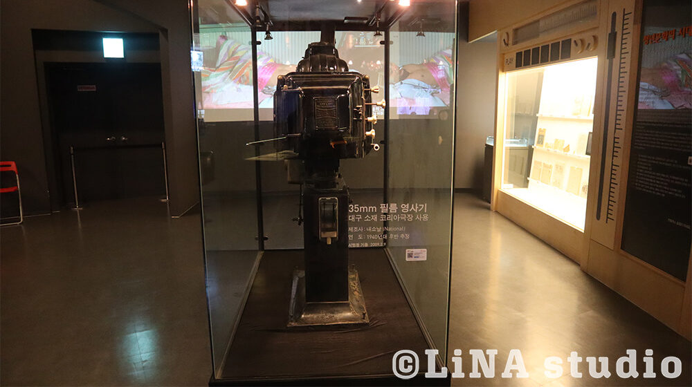韓国映画博物館_機材